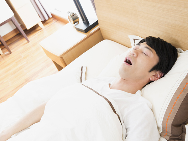 画像:睡眠時無呼吸症候群(SAS)イメージ
